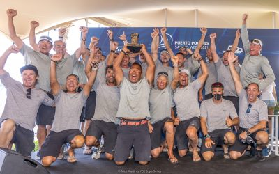 Sled and Beau Geste triumph in Puerto Portals!!